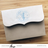 Stamped Envelopes - Anything But A Card Challenge